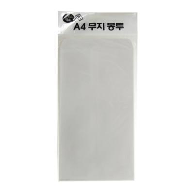 드림백봉투A4(인쇄무)100매 215454