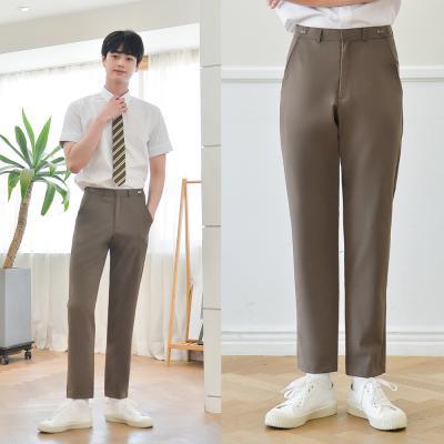 [하복][허리조절] 스판 코코아 교복바지(남자)