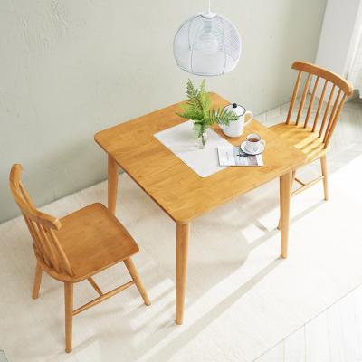 [노하우] 소이 고무나무원목 2인 식탁세트