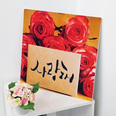 nj028-음각디자인액자_장미꽃과사랑고백