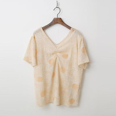 Linen Cotton Pineapple Blouse
