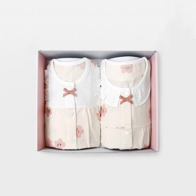 [메르베] 벚꽃 돌선물세트(7부내의+수면조끼)_여름용