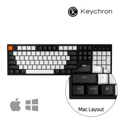 [키크론] C2 유선 기계식 키보드/애플 풀배열 키보드
