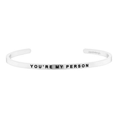 [만트라뱅글] YOU`RE MY PERSON - 실버