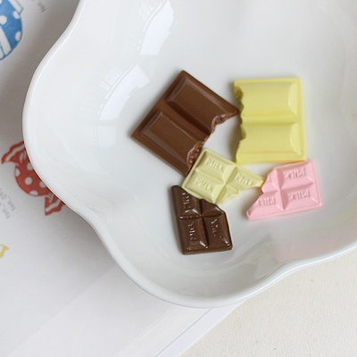 [콩지] 미니어쳐 초콜릿 장식 대