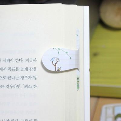 [플라스틱&자석 자동책갈피] 자동책갈피 수지인 : 마이가든