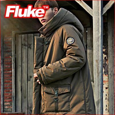 [플루크 패딩] 그리네이드 헤비 야상 패딩 점퍼 카키 FPJ1521-KHAKI FLUKE 15FW