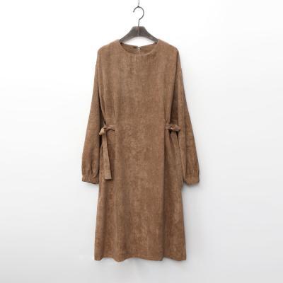 Corduroy Ribbon Dress