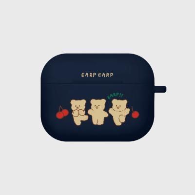 cherry nini-navy(Air pods pro case)