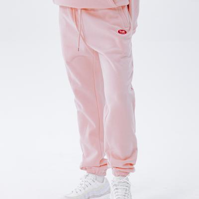 데이라이프 로고 스웨트 팬츠 (핑크)