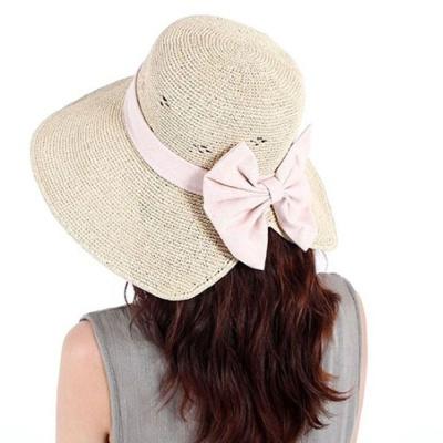 왕골 버킷햇 여자 와이어 벙거지 패션 모자 베이지