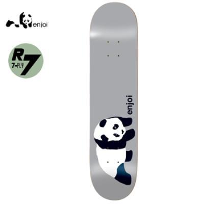 [enjoi] ORIGINAL PANDA SILVER R7 DECK 8.25