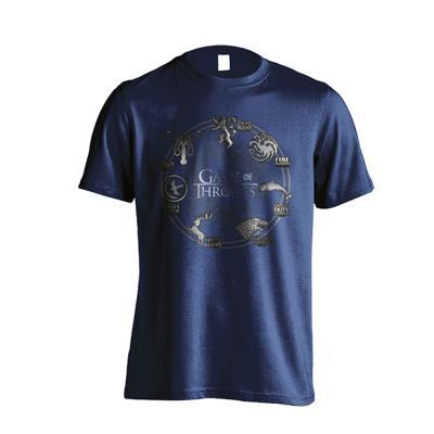 왕좌의게임 정품 굿즈 원형 가문 문장 티셔츠