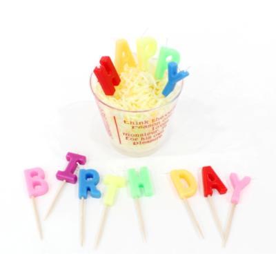 포포팬시 알파벳 생일초 HAPPY BIRTHDAY