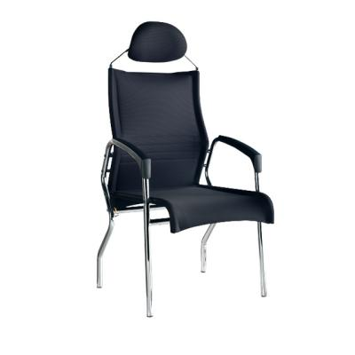 모세 고정형 헤드 의자(대)