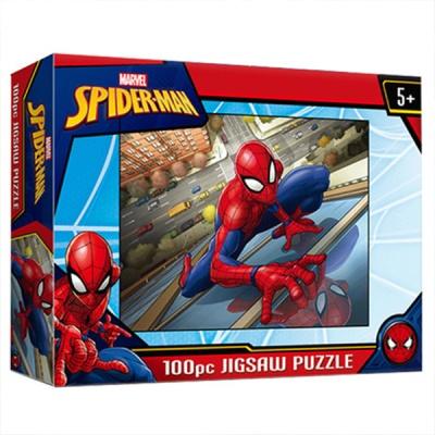 마블 스파이더맨 퍼즐 100피스 스파이더맨 도시의 영웅 직소퍼즐