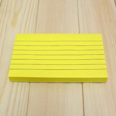 100매 라인 접착메모지(13x7.5cm)