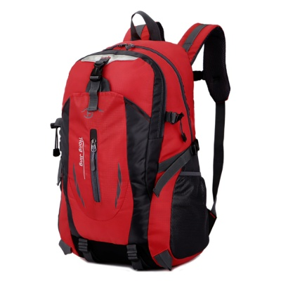 트래킹 방수 등산가방(레드)/ 경량 스포츠 배낭