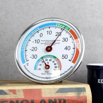 NEW 고급 정밀 온도계 습도계(13cm) 아날로그 온습도