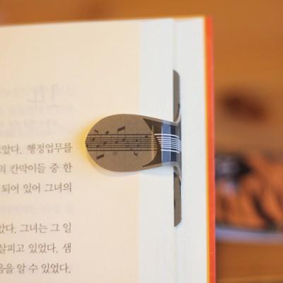 [자석자동책갈피] 자동책갈피 수지인M : 은이기타(브라운)