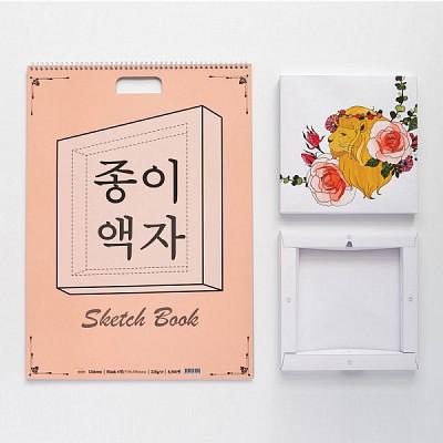 종이액자스케치북 Blank 4절
