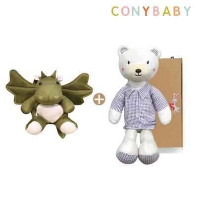 [CONY]애니멀가방&인형세트(셔츠베베60+올라메쉬가방)