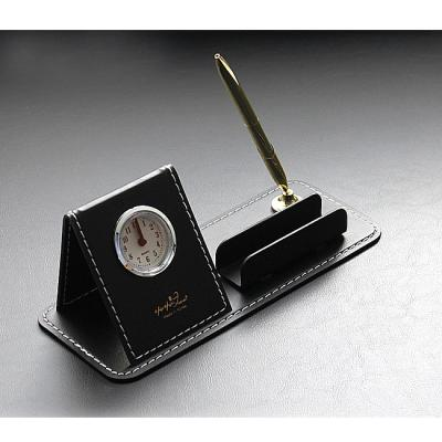 아리아라 가죽 시계 명함 볼펜 세트 데스크세트