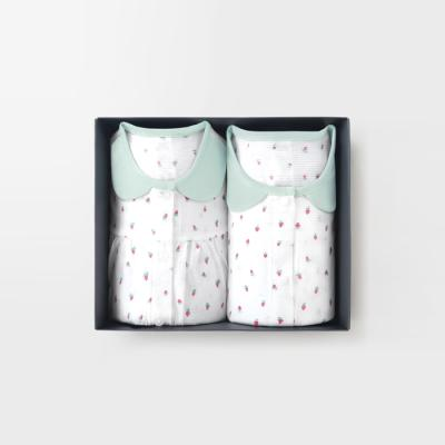 메르베 미니베리 아기 돌선물세트(7부 내의+수면조끼)