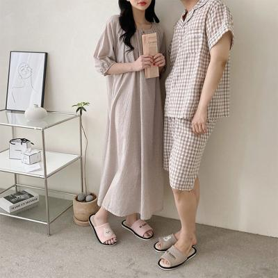 Lulu Check Dress N Pajama Set - 커플룩
