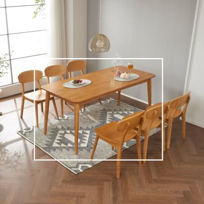 랠리 6인 식탁 테이블