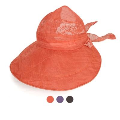 [디꾸보]마스크 롱리본 와이어 썬캡 여성모자 AC597