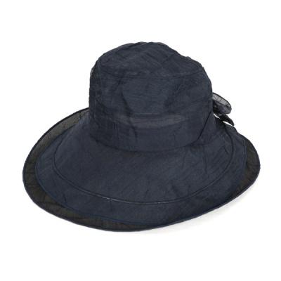 [디꾸보]롱챙 리본 와이어 플로피 햇 썬캡 모자 AC598