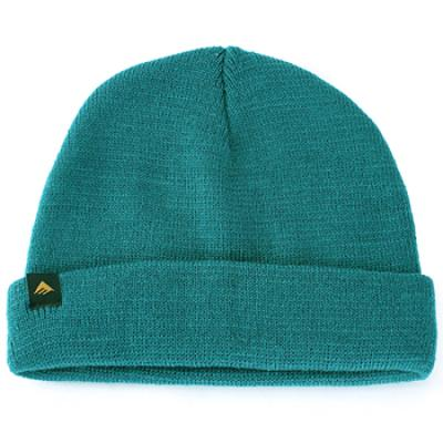 [EMERICA] BRANDOE ROLL-UP BEANIE (Dark Teal)