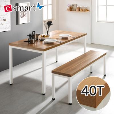스틸헤비 4인용 식탁세트1200x800 (일자다리)