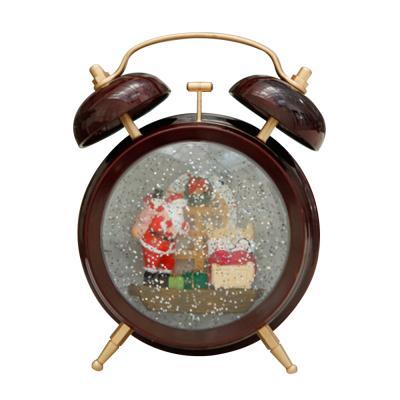 [adico]알람시계 워터볼 - 산타클로스