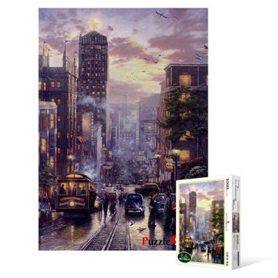 1000피스 직소퍼즐 - 낭만의거리 샌프란시스코 2