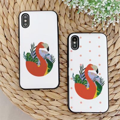 아이폰7플러스 눌눌 Flamingo 카드케이스