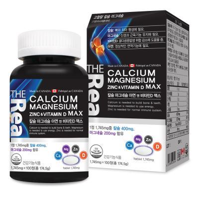칼슘 마그네슘 아연 앤 비타민D 맥스 고함량 기능성