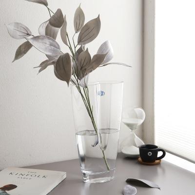 입술쉐입 디자인 대형 유리꽃화병 (소)