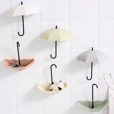 우산모양 소품 후크걸이 (3P)