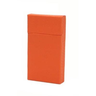 담뱃케이스 오렌지 빗살무늬슬림형 담뱃상자 담뱃갑