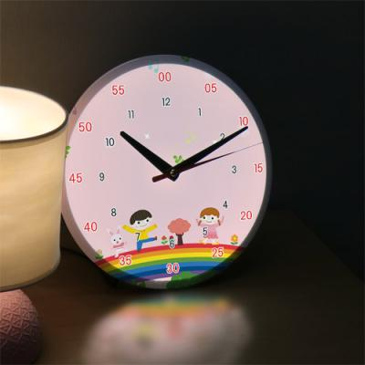 ng174-LED시계액자25R_꾸러기친구들