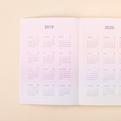 루카랩 2019 날짜형 팬시다이어리