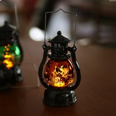 LED 할로윈 큐티랜턴 (소) 오렌지
