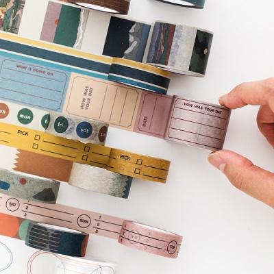 [B급상품]라이프앤피시스 페이퍼 테이프 15mm (11종)
