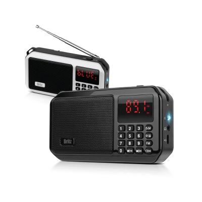 브리츠 포터블 라디오 블루투스 스피커 BZ-LV980