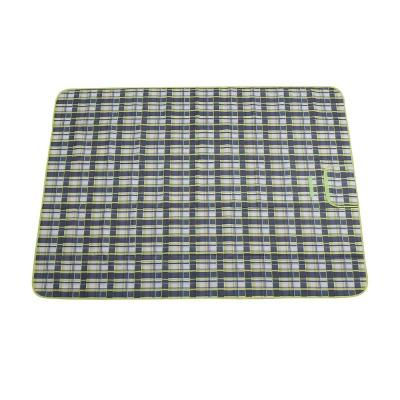 피크닉 체크 돗자리(145x180cm) (네이비)