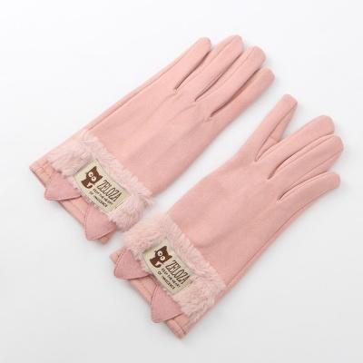 우먼 캣츠 터치장갑(핑크)