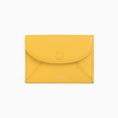 REIMS W019 Envelope Card Wallet Yellow