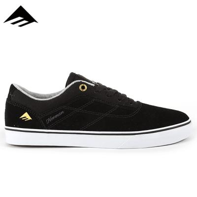 [EMERICA] HERMAN G6 VULC (BLACK/WHITE)